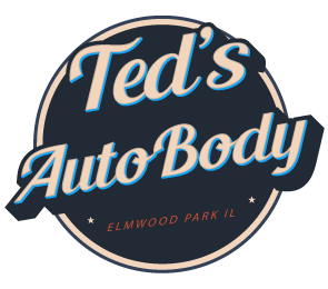 Ted's Auto Body Logo